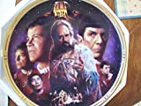 Star Trek The Final Frontier Collector's Plate - with COA (SP)
