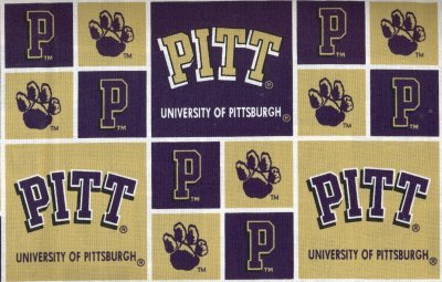 University of Pittsburgh By Sykel - 100% Cotton 44