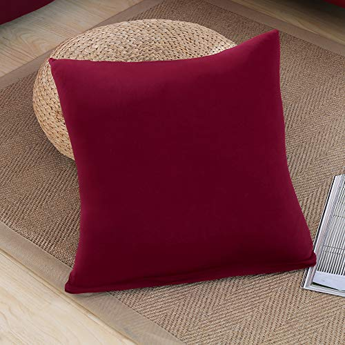 Beacon Pet Universal Covers for L Shape, 2pcs Polyester Slipcovers 2pcs Covers L-Shape Red Wine-Coloured