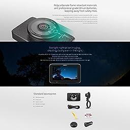 360 Smart Car Dash Camera J511C Automobile Data Recorder Car DVR Night Vision Full HD 1080P 3.0\