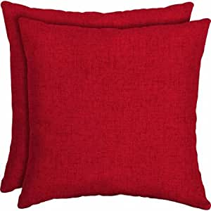 Amazon Com Mainstays Outdoor Patio 16 Quot Square Toss Pillow