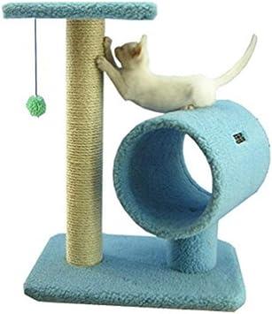 Fushenr Juego de Mesa para Gatos, Torres de Juegos para Gatos, Suministros para Mascotas, árbol para Gatos, Poste rascador de Felpa x x x cm: Amazon.es: Productos para mascotas