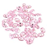 Neerupam collection Pink Colour Cubic Zirconia AAA Quality Diamond Cut Oval Shape loose gemstone
