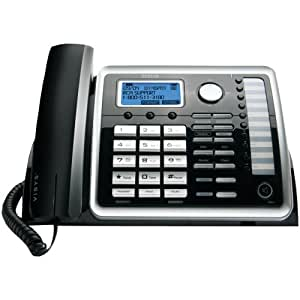 ViSYS Two-Line Corded Speakerphone with Digital Answering System, Sold as 1 Each