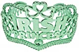 St. Patricks Day Irish Princess Green Tiara Crown Hat