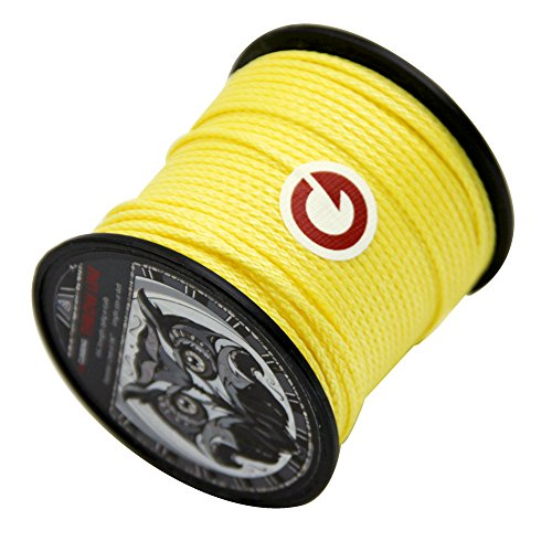 GM CLIMBING 650lb / 1000lb Arborist Throw Line 180feet 100% UHMWPE for Tree Climbing Outdoor General Purpose