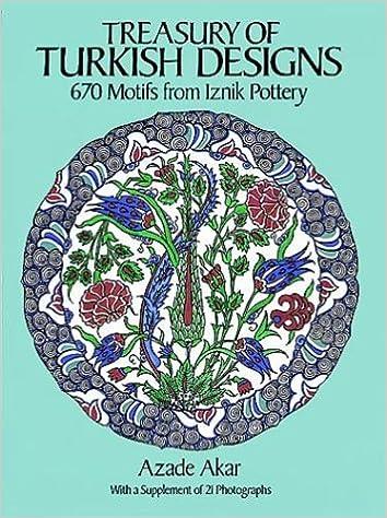 Treasury of Turkish Designs : 670 Motifs from Iznik Pottery
