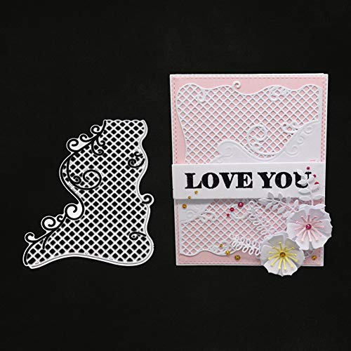 Lookatool Cutting Dies Scrapbooking Paper Card Metal Die Cut Stencils #190317M, Accessories for Big Shot and Other Cutter Machine(F) -