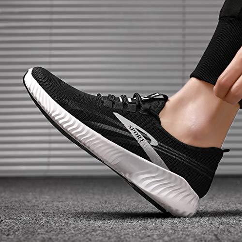 De Pour Air Respirantes Hommes Hommes Course En Sport Plein Baskets La Mode Gris Chaussures À 50Xqwqdn