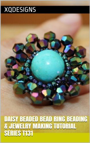 - Daisy Beaded Bead Ring Beading & Jewelry Making Tutorial Series T131