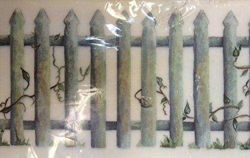 - Instant Stencils Picket Fence Rub-on