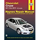 Chevrolet Cruze: 2011 thru 2015 All models (Haynes Repair Manual)