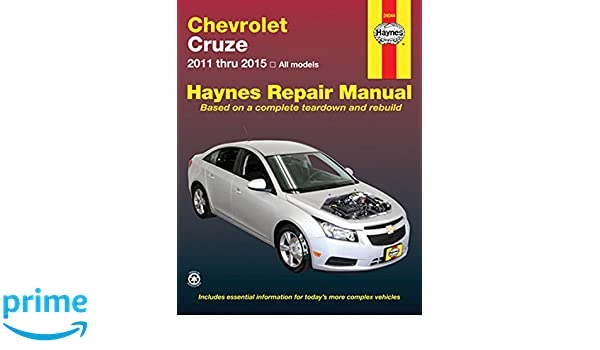 Chevrolet CRuze Automotive Repair Manual: 2011-15 Haynes Automotive Repair Manual: Amazon.es: Haynes Publishing: Libros en idiomas extranjeros