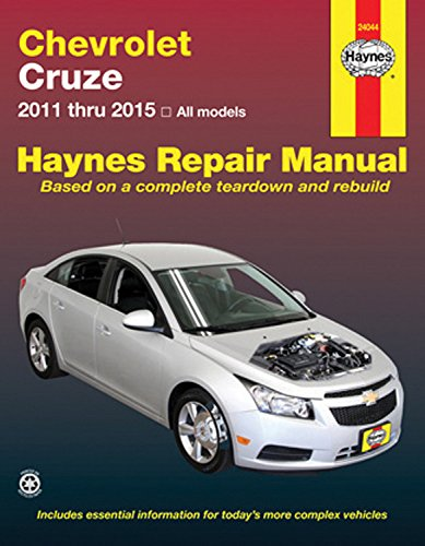 Chevrolet Cruze: 2011 thru 2015 All models (Haynes Repair (Chevy Owners Manual)