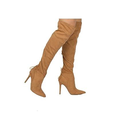 4e2a2d2fda1 Qupid Women s MILIA-111X Over The Knee Boot
