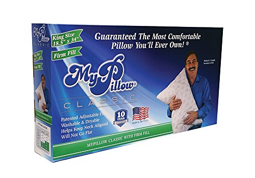 My Pillow Classic Series Bed Pillow, King Size, Firm (Single Pillow) - Firm King Pillow