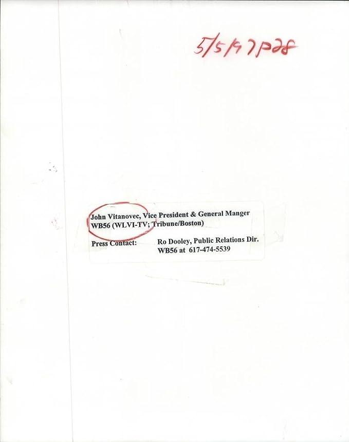 Amazon com: 1997 Press Photo John Vitanovee, Vice President