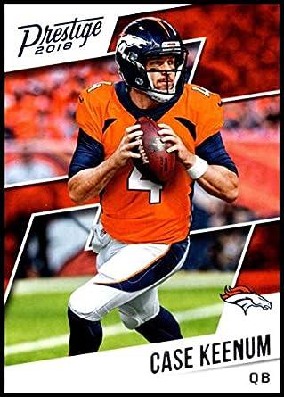 cheaper d86f9 58764 Amazon.com: 2018 Prestige NFL #112 Case Keenum Denver ...