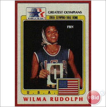 Greatest Olympians Wyomia Tyus #60 Single Trading Card