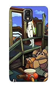 For Galaxy Case, High Quality Goodbye Deponia For Galaxy Note 3 Cover Cases / Nice Case For Lovers' Gifts