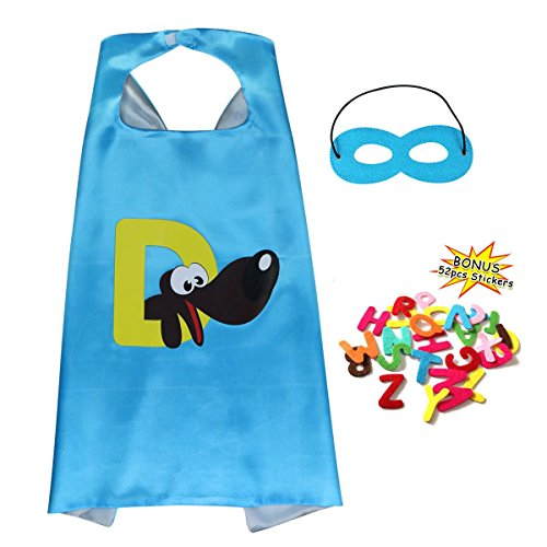 Kids Toddlers DIY Super Hero Cape and Mask