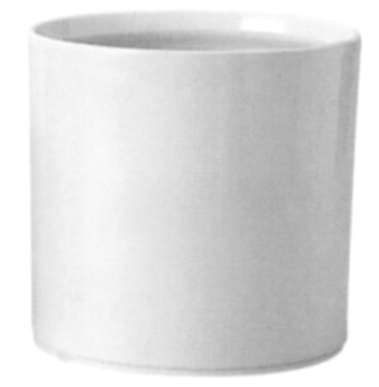 アドミナ 鉢カバー 8号用31cm ホワイト【グランプリ G-1】 陶器 信楽焼き 穴なし おしゃれ B079YP147F 8号 ホワイト ホワイト 8号
