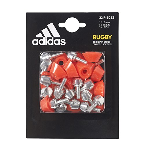 Adipower sldNs Unisex red Da AdultoSilver Adidas StudTacchetti Rugby rp nv0wOmN8