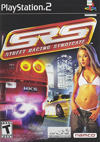 SRS Street Racing Syndicate PlayStation 2 product image