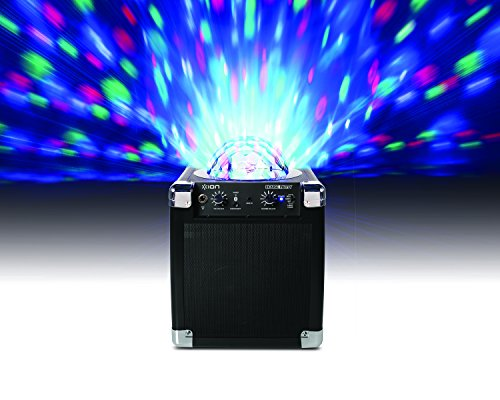 812715015046 - ION Audio House Party (iPA18L) | Portable Sound System with Built-In Light Show (Black / 8W) carousel main 4