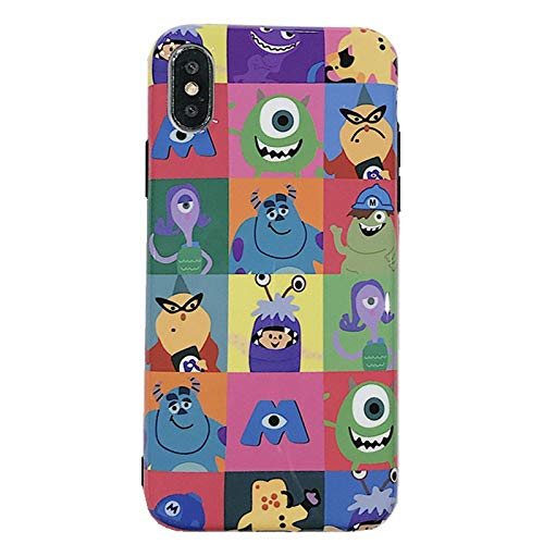 Soft TPU Monsters University Sulley Mike Case for iPhone X XS iPhoneXS Slim Shockproof Shock Proof Smooth Slim Sleek Fit Fun Unique Cute Chic High Fashion Stylish Cool Girls Boys Teens Kids Son Boys]()