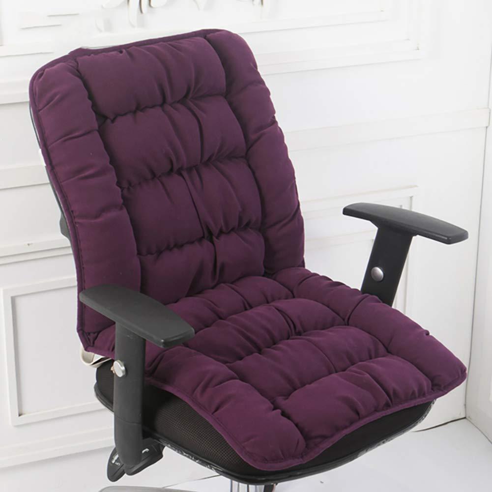 MINISU Cuscino per Sedia, Cuscini per sedie Patio Lounge, Cuscino per sedie Addensato Cuscino per Esterni in Vimini Antiscivolo Cravatte Cuscini per sedili Quadrati Trapuntati