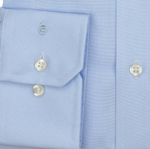 Claro Eterna Azul Fit Poplin Uni Shirt Long Sleeve Modern Tn8CTz