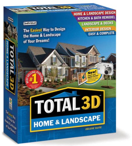 Individual Software Total 3D Home & Landscape Deluxe Suit...