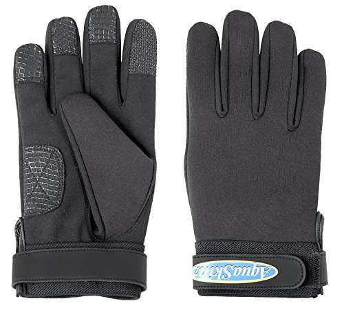 AquaSkinz Black Thunder Fishing & Sports Hunting Driving Gloves