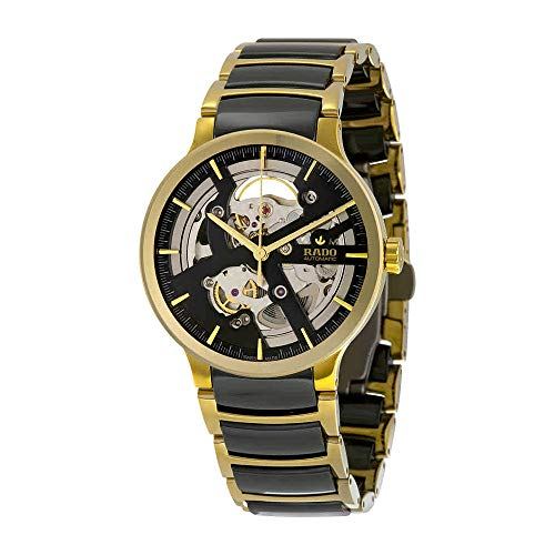 Rado Centrix Skeleton Dial Ceramic Mens Watch R30180162