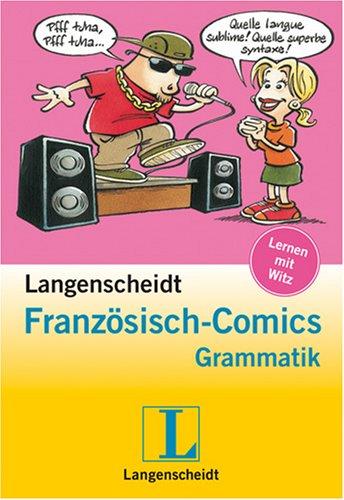 Langenscheidt Französisch-Comics Grammatik - Buch mit Spiralbindung im Umschlag