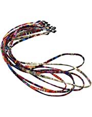 HOMYL 5Pieces/Pack Multi Color Sunglasses Strap Eyeglass Glasses Retainer Holder Necklace