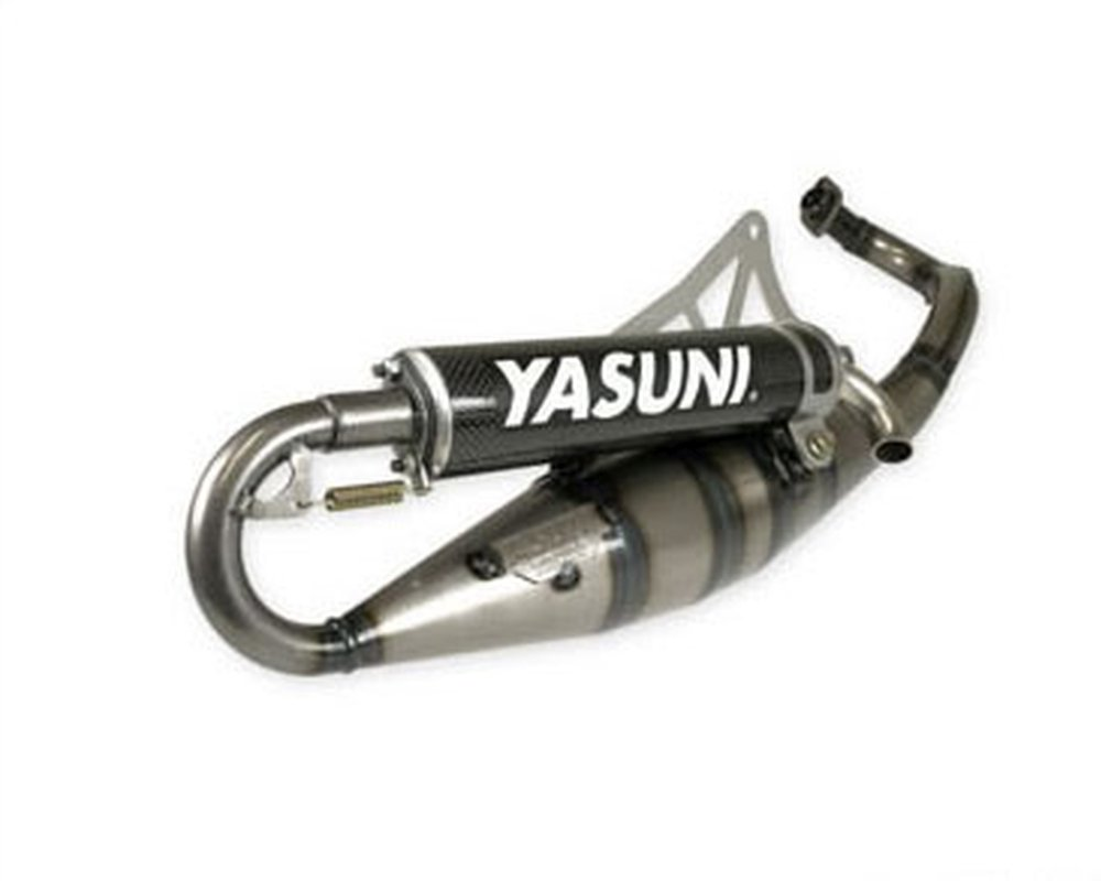 /Échappement Yasuni Scooter R Black Edition POUR MBK forte 50 Nitro 50/ Mach G 50/AC//LC Cat
