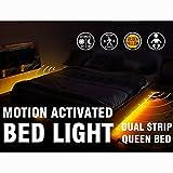 Motion Activated Bed Light Emotionlite LED Motion Sensor Bedside...