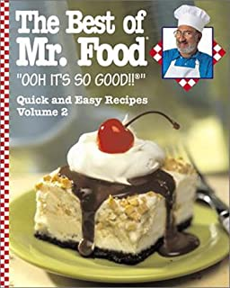 The mr food cookbook art ginsburg 9780688092580 amazon books the best of mr food vol 2 forumfinder Gallery