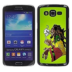 - Marijuana Kush Weed - - Hard Plastic Protective Aluminum Back Case Skin Cover FOR Samsung GALAXY Grand 2 g7106 g7108v g7109 Queen Pattern
