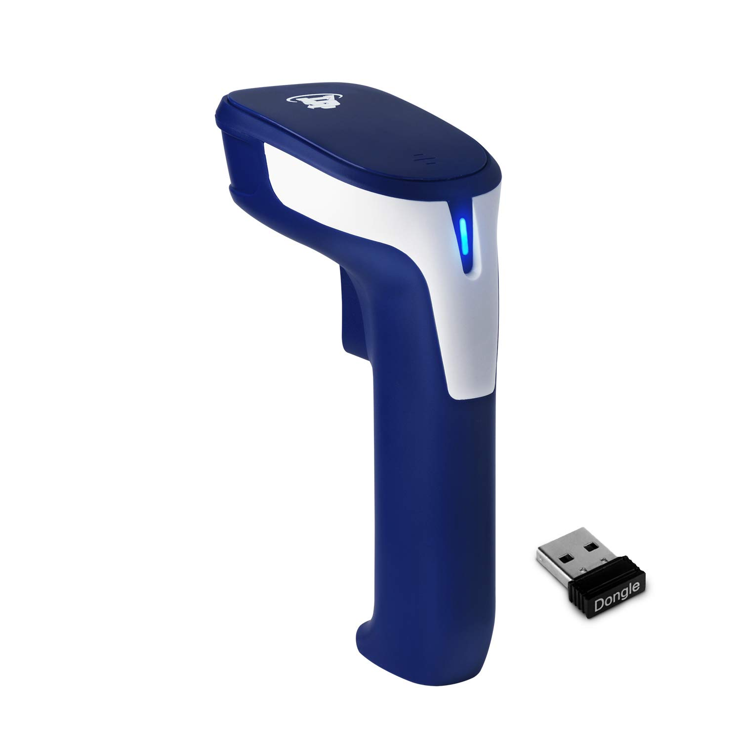 ScanAvenger 1D and 2D Portable Wireless Bluetooth Barcode Scanner: 3-in-1 - Cordless, Rechargeable Scan Gun for Inventory Management - Wireless, Handheld, USB Bar Code/QR Code Reader - Hand Scanner