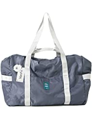 VanFn Foldable Travel Duffel Bag, Sports Duffels Gym Bag, Rainproof Nylon Totes, Sports Shoulder Handbag, Lightweight...