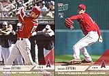 #7: Shohei Ohtani 2018 Topps Now Baseball Rookie Card Lot of 2 - Hitting Rookie Card and Pitching Rookie Card