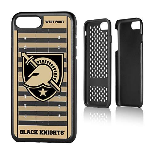 Keyscaper KRGD7X-0ARM-VFLD01 Army Academy Black Knights iPhone 8 Plus / 7 Plus Rugged Case with USMA Football Field Design