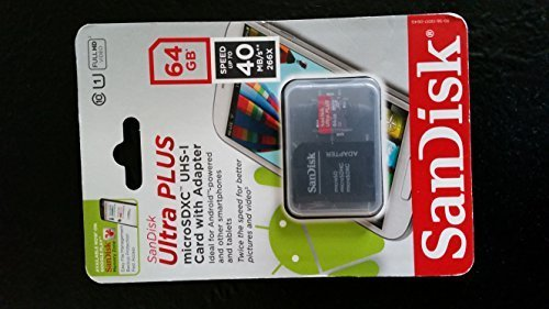 619659113209 - SanDisk Ultra PLUS 64GB microSD Card, Mobile, Class 10 carousel main 0