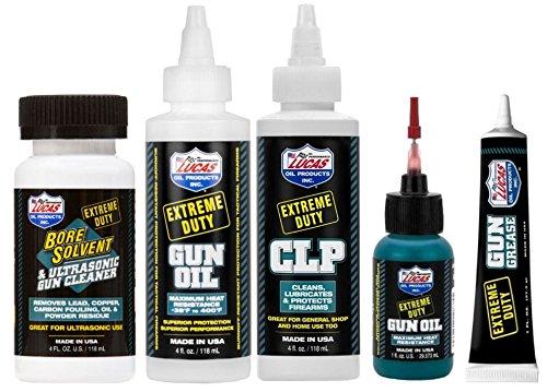 LUCAS Extreme Duty 4oz Bore Solvent, Gun Oil, CLP & 1oz Needle - Import It  All