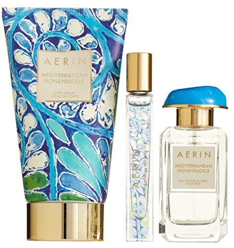 AERIN Mediterranean Honeysuckle Women's Perfume 3 Pcs Gift Set Limited Edition by AERIN