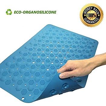 Amazon Com 100 Silicone Non Slip Bath Mat With Suction