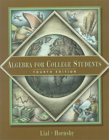 Algebra for College Students (4th Edition)